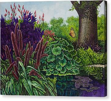 Flower Garden V Canvas Print