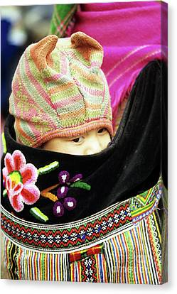 Flower Hmong Baby 02 Canvas Print by Rick Piper Photography