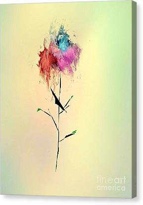 Flower Canvas Print by John Krakora