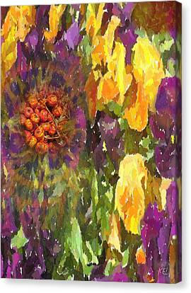 Flower Canvas Print by Kelly McManus