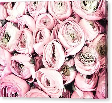Pinks Canvas Print - Flower Kisses by Lupen  Grainne