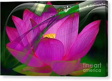Flower Art Canvas Print - Flower by Marvin Blaine