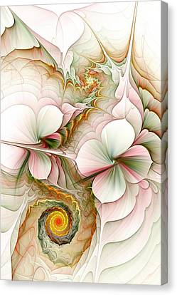 Flower Motion Canvas Print
