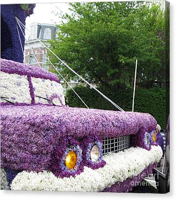 Flower Parade. 03 Blumencorso Holland 2011 Canvas Print by Ausra Huntington nee Paulauskaite