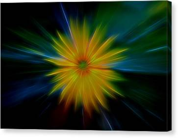Nature Center Canvas Print - Flower Power by Dan Sproul