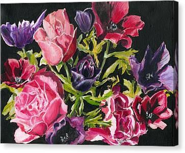 Flower Power Canvas Print by John Simlett