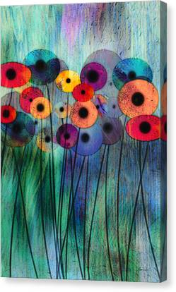 Flower Power Three Canvas Print