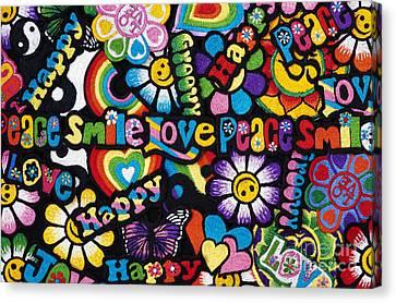 Flower Power Canvas Print by Tim Gainey