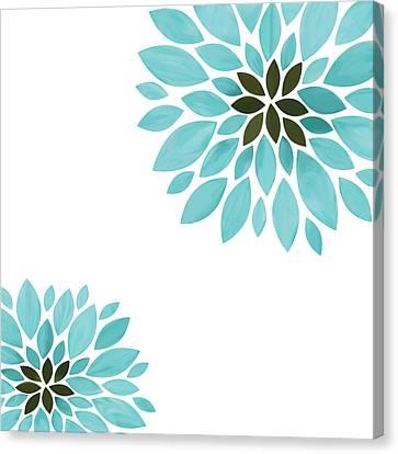 Close Focus Floral Canvas Print - Flower by Art Spectrum