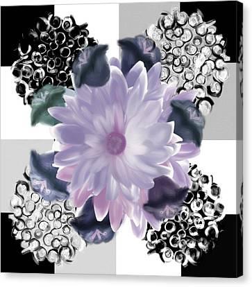 Flower Spreeze Canvas Print by Christine Fournier
