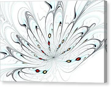 Flower Universe Canvas Print