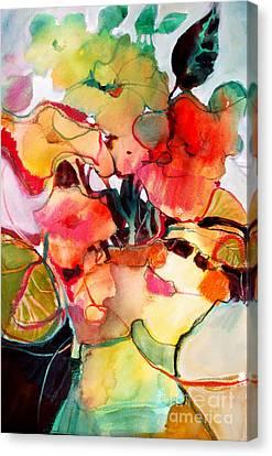 Flower Vase No. 2 Canvas Print by Michelle Abrams