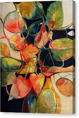 Flower Vase No. 5 Canvas Print by Michelle Abrams