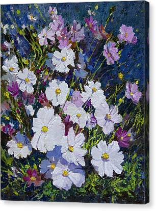 Flower_01 Canvas Print by Helal Uddin