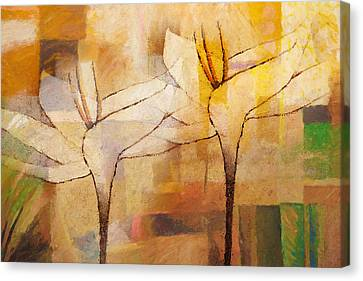 Flowerdance Canvas Print by Lutz Baar
