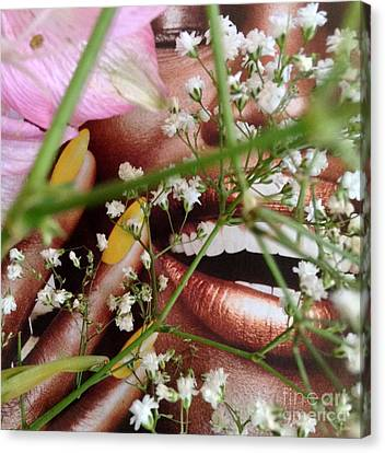 Flowergirl2 Canvas Print by Susan Townsend