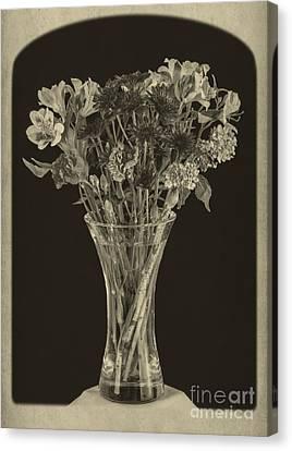 Flowers 1860s Canvas Print by Edward Fielding
