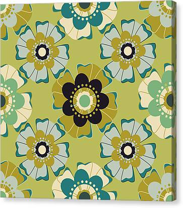 Flowers 4 Canvas Print by Lisa Noneman