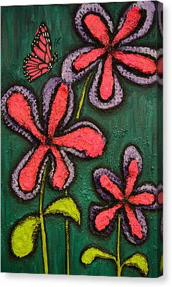 Flowers 4 Sydney Canvas Print