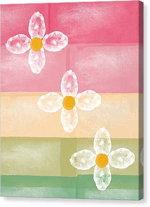 Flowers Canvas Print by Aged Pixel