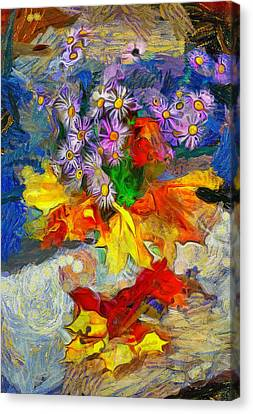 Flowers And Colours Canvas Print by Yury Malkov