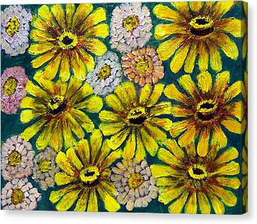 Flowers Canvas Print by Don Thibodeaux
