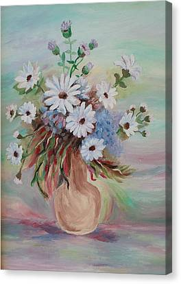 Flowers For Mom Canvas Print by Christy Saunders Church