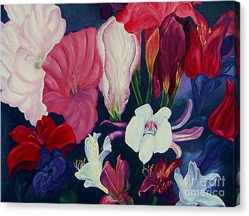 Flowers For Mother Canvas Print