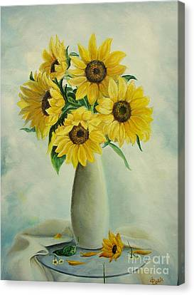 Flowers For You Canvas Print by Sorin Apostolescu