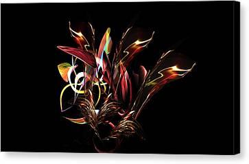 Louis Ferreira Art Canvas Print - Flowers From Heaven by Louis Ferreira