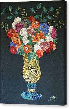 Flowers Gone Wild Canvas Print by Lynda K Boardman