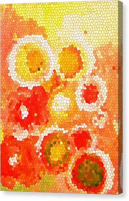 Flowers Iv Canvas Print by Patricia Awapara