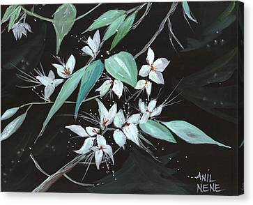 Flowers N Petals Canvas Print by Anil Nene