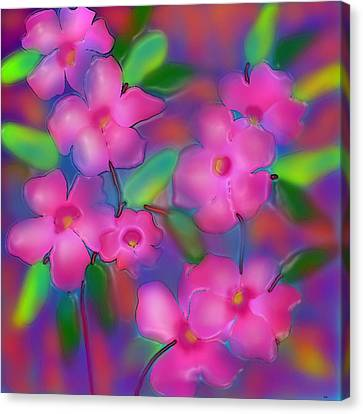 Flowers Of October Canvas Print