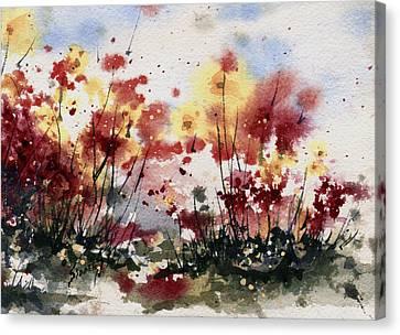 Flowers Canvas Print by Sam Sidders