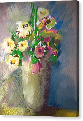 Flowers Canvas Print by Synnove Pettersen