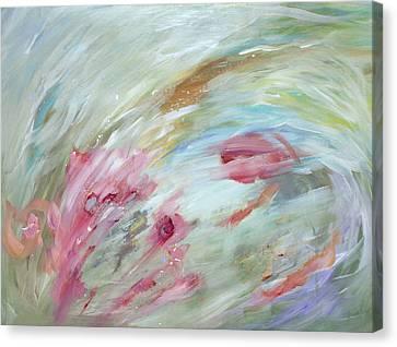 Flowers Canvas Print by Tanya Byrd