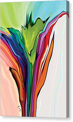 Flowery 5 Canvas Print by Rabi Khan