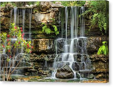 Flowing Falls Canvas Print