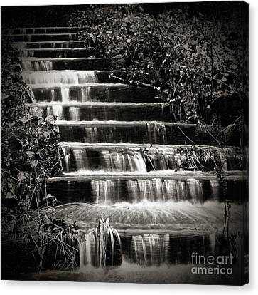 Flowing Stairs Canvas Print by Charmian Vistaunet