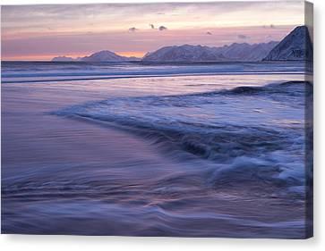 Flowing Surf Canvas Print