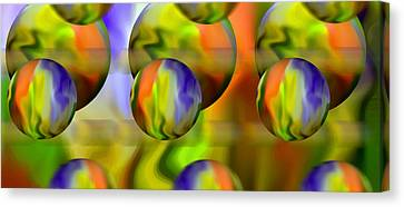 Undefined Canvas Print - Flowing With Life 10 by Angelina Vick