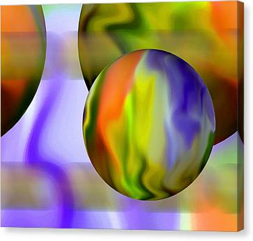 Undefined Canvas Print - Flowing With Life 11 by Angelina Vick