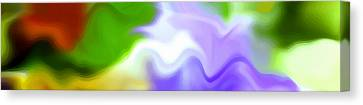 Undefined Canvas Print - Flowing With Life 13 by Angelina Vick