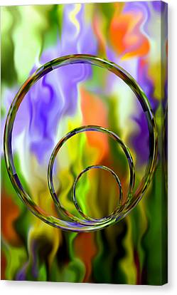 Undefined Canvas Print - Flowing With Life 14 by Angelina Vick