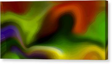 Undefined Canvas Print - Flowing With Life 2 by Angelina Vick