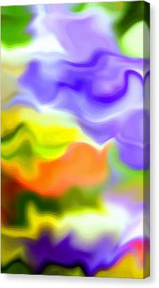 Undefined Canvas Print - Flowing With Life 5 by Angelina Vick