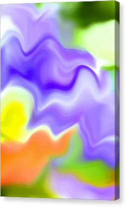 Undefined Canvas Print - Flowing With Life 6 by Angelina Vick