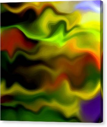 Undefined Canvas Print - Flowing With Life 8 by Angelina Vick