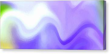 Undefined Canvas Print - Flowing With Life 9 by Angelina Vick